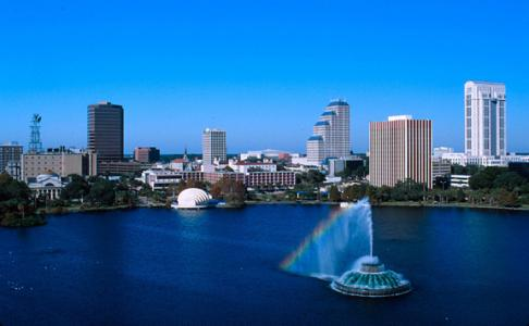 Фото города Орландо США