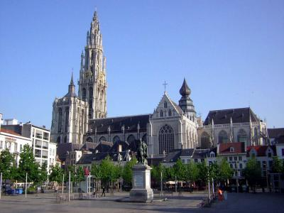 Фото города Антверпен Бельгия - Антверпен