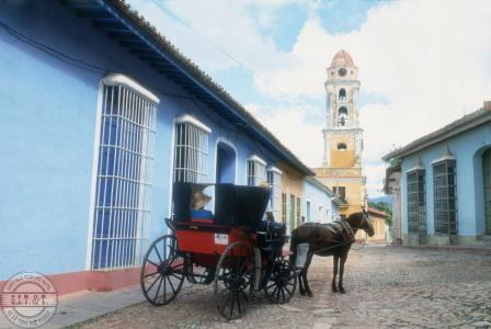 Фото города Тринидад  Куба