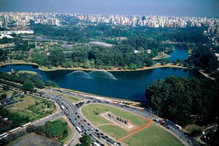 Фото города Сан Пауло Бразилия