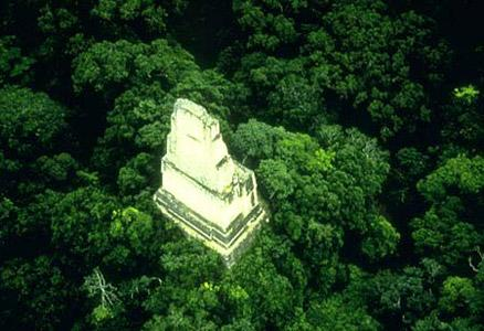 Фото города Тикаль Гватемала