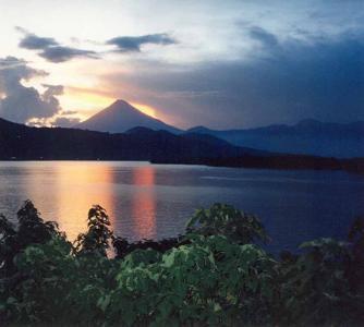 Фото города Панахачель Гватемала
