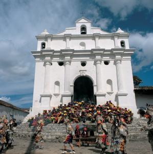 Фото города Чичикастенанго Гватемала