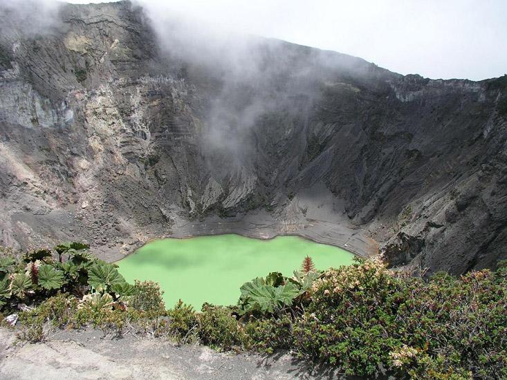 Фото национальный парк вулкан Ирасу Коста-Рика