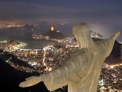 Фото страны Бразилия - Статуя Христа в Рио-де-Жанейро.