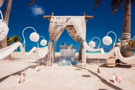 Фото Свадьба в стиле винтаж Доминикана