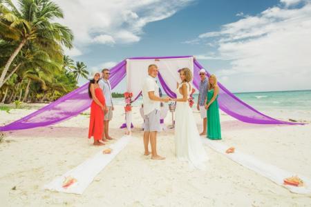 Фото Свадьба на райском острове Доминикана