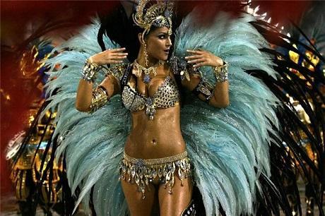 Тропический Карнавал в Рио де Жанейро