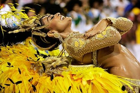 Потрясающий Карнавал в Рио де Жанейро