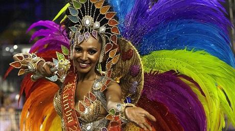 Экзотический Карнавал в Бразилии